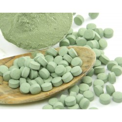 Calca Green Tabletten  im Braunglas