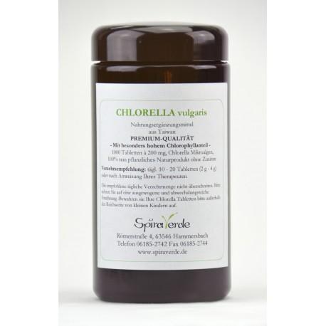 Chlorella Tabletten-Spira Verde