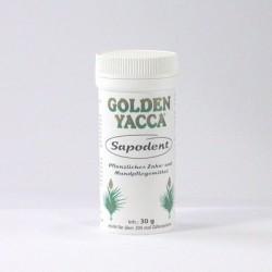 Golden Yacca SAPODENT Pulver, pflanzliche Zahnreinigung