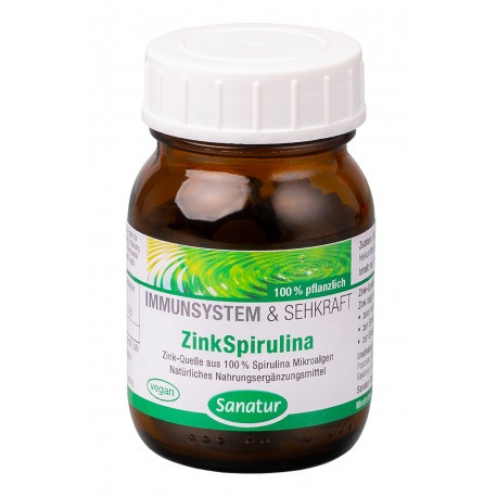Zink-Spirulina-Sanatur
