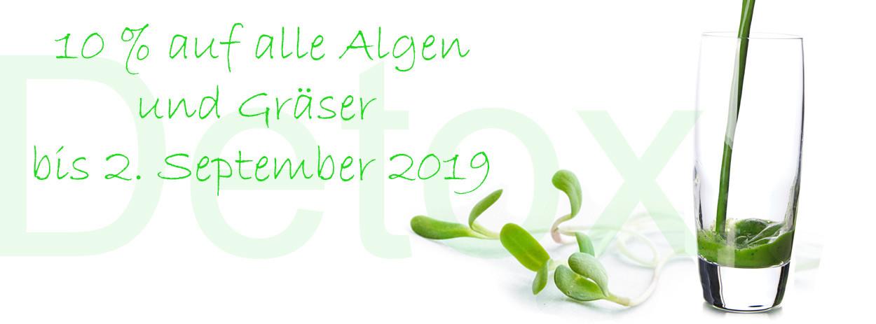 Gräser und Algen